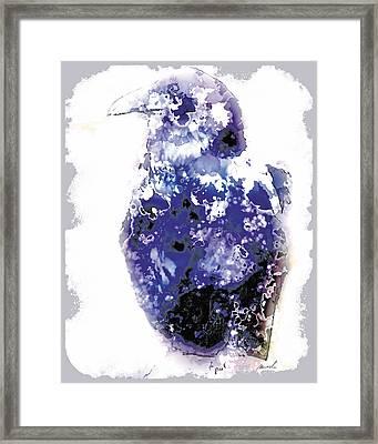 Raven Framed Print by The Art of Marsha Charlebois