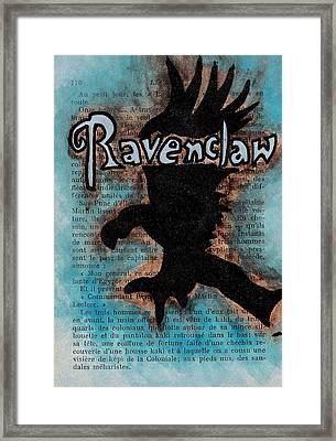 Ravenclaw Eagle Framed Print by Jera Sky