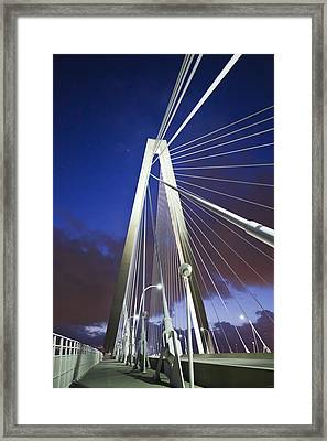Ravenel Tower Framed Print by Donni Mac