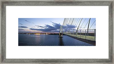 Ravenel West - Panoramic Framed Print by Donni Mac