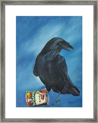 Ravenoli Framed Print by Amy Reisland-Speer