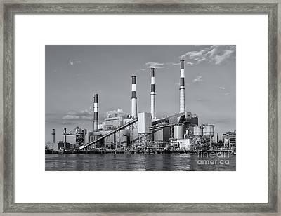 Ravenswood Generating Station II Framed Print