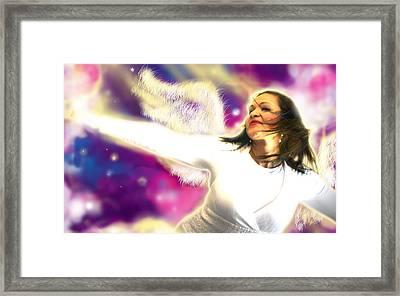 Ravert.angelic 3 Framed Print