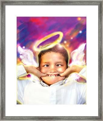 Ravert.angelic 4 Framed Print