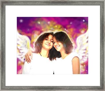 Ravert.angelic 5 Framed Print
