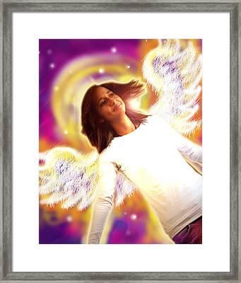 Ravert.angelic 6 Framed Print