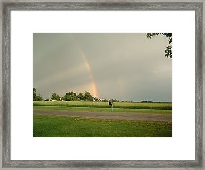 Framed Print featuring the photograph Ray Bow by Bonfire Photography