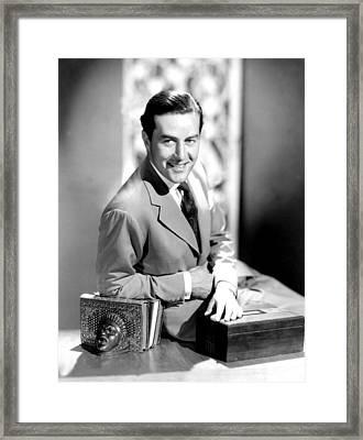 Ray Milland, 1942 Framed Print by Everett