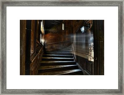 Ray Of Light Framed Print by Nathan Wright