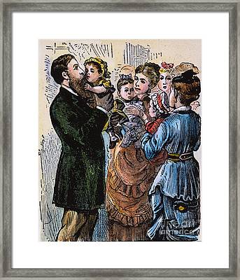 R.b. Hayes: Campaign, 1876 Framed Print by Granger