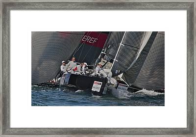 Rc 44 Regatta San Diego Framed Print by Steven Lapkin