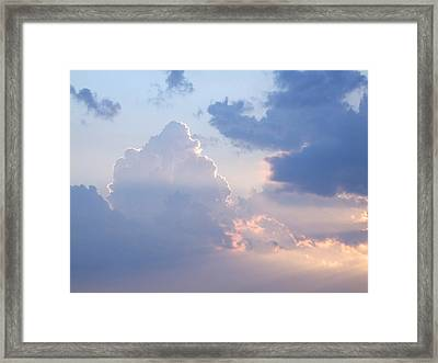 Reach For The Sky 4 Framed Print by Mike McGlothlen
