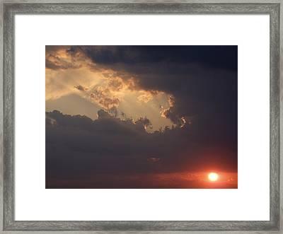 Reach For The Sky 5 Framed Print by Mike McGlothlen