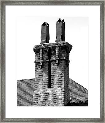 Reach For The Sky Framed Print by Michael Swanson