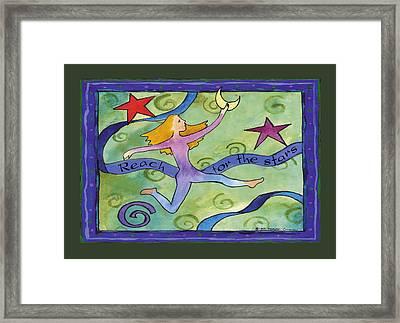 Reach For The Stars Framed Print by Pamela  Corwin