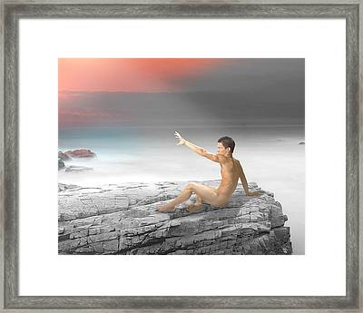 Reach Framed Print by Michael Taggart