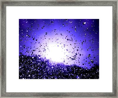 Reach Out And Touch One Framed Print by Catherine Natalia  Roche