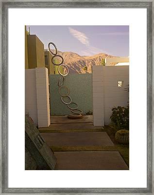 Reach To The Sky Framed Print by Debra Jacobson