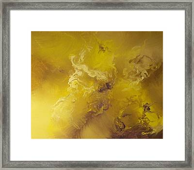 Reaching Above And Beyond Framed Print by Raymond Doward