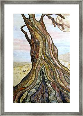 Reaching Framed Print by Doria Goocher