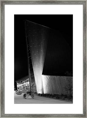 Framed Print featuring the photograph Reaching Into The Night by JM Photography
