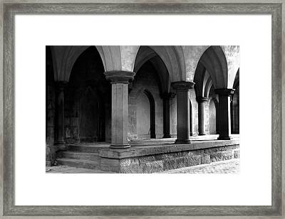 Reading Cemetary Framed Print by Barry Shaffer