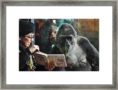 Reading Is Fundamental Framed Print by Bill Cannon