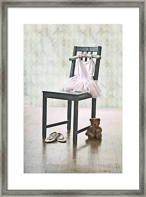 Ready For Ballet Lessons Framed Print by Joana Kruse