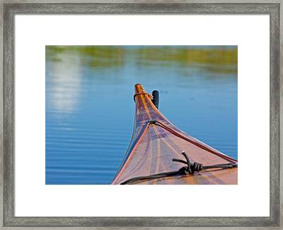 Ready For Launch Framed Print by Mark Andrew Thomas