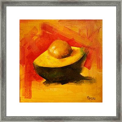 Ready For Salad Framed Print by Jose Romero