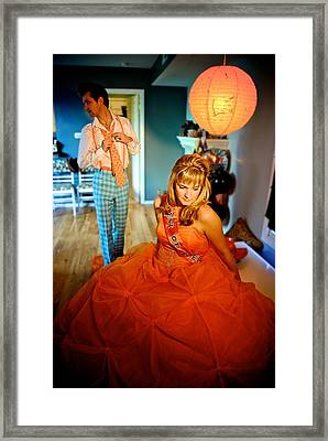 Ready For The Ball Framed Print by Dorothy StClaire