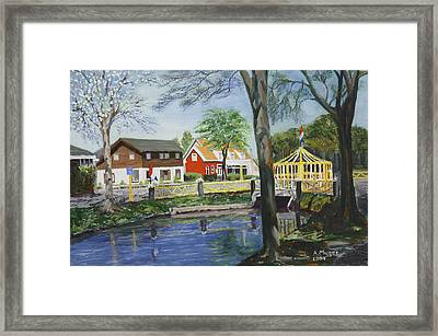 Ready For The Spring Framed Print