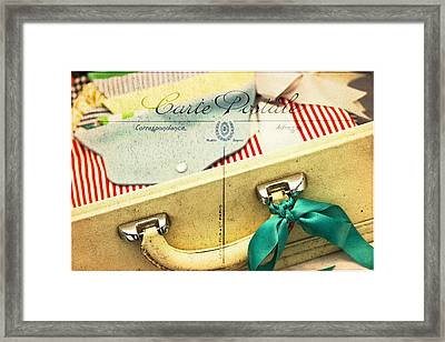 Ready Framed Print by Rebecca Cozart