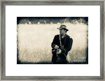 Ready The Revolver Framed Print by Kim Henderson