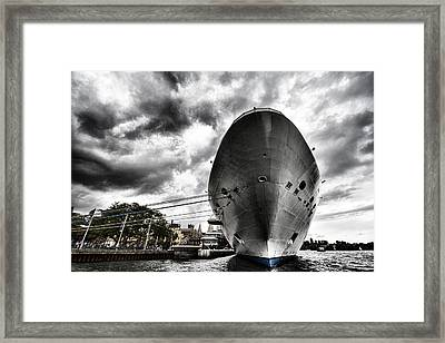Ready To Cruise Framed Print by Douglas Barnard