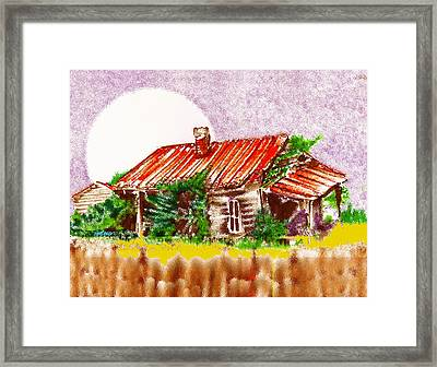 Ready To Fall In Framed Print by Seth Weaver