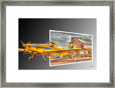 Ready To Fly Framed Print by Barry Jones