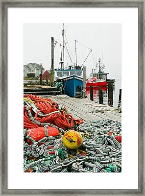 Ready To Go Framed Print by Frank Townsley