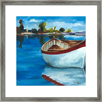Ready To Go Framed Print by Jose Romero