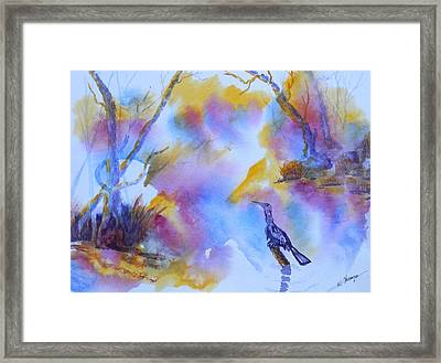 Ready To Hunt Framed Print by Warren Thompson
