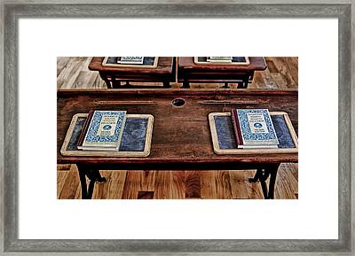 Ready To Learn Framed Print