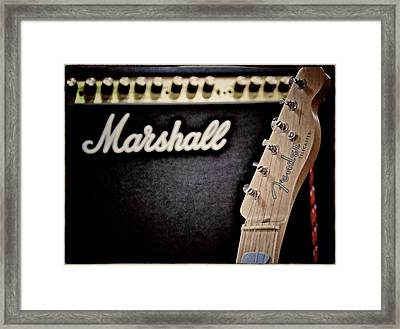 Ready To Play Framed Print by Odd Jeppesen