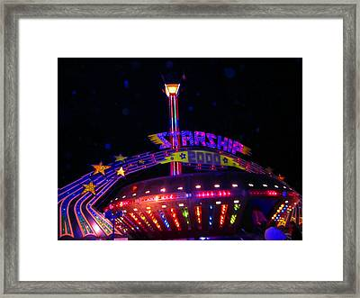 Ready To Ride  Framed Print by Kym Backland
