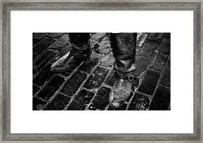 Ready To Ride Framed Print by Toma Caul