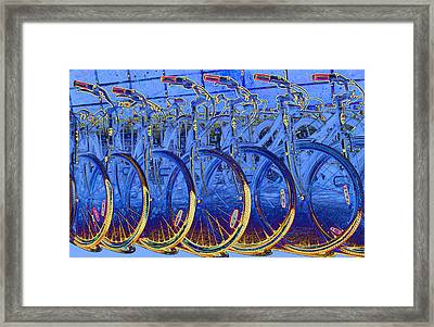 Ready To Roll Framed Print by Barbara  White