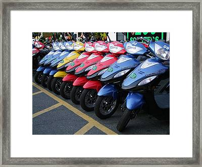 Ready To Roll Framed Print by George Cousins