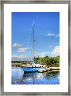 Ready To Sail Framed Print by Barry Jones