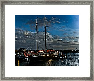 Ready To Sail Framed Print
