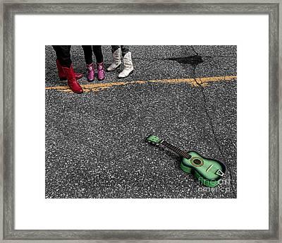 Real Gone In Nowheresville Framed Print