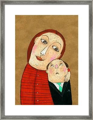 Real Love Framed Print by Jenny Meilihove